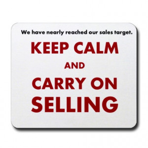 ... Gifts > Funny Office > Sales and Selling Funny Motivational Mousepad