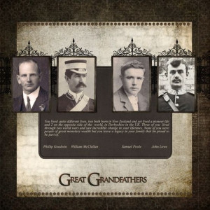 Ancestry Scrapbooking Ideas | Scrapbook - Heritage