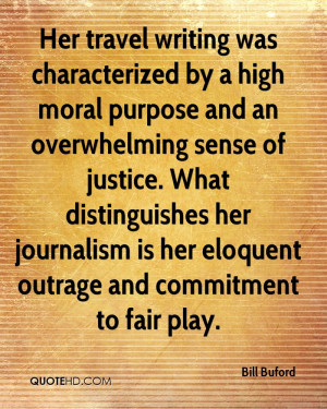 Her travel writing was characterized by a high moral purpose and an ...