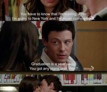 Finn Hudson Glee Quote