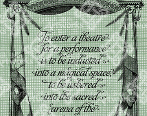 Digital Download Theatre Stage Quote, Simon Callow, Sayings, Verse ...