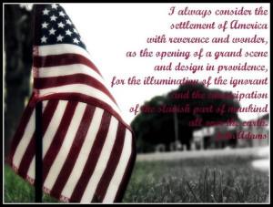Patriotic quotes, best, meaningful, sayings, john adams