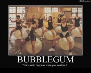 Bubblegum or Chewing Gum???.... :))