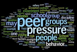 Peer Pressure...