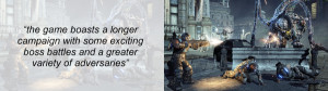Gears of War 3 Review Quote 2