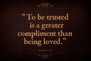 Famous Trust Quotes Sayings...