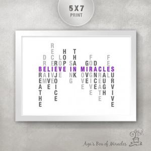 Inspirational Quote PRINT / Get Well Inspirational Gift / Inspiring ...