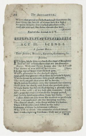 An example of Mercy Otis Warren's Publications