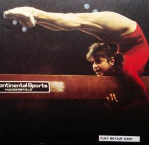 Olga Korbut ussr Vintage gymnastics 1970s