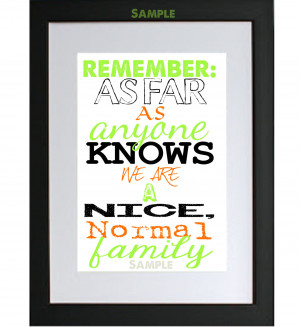 Dysfunctional Family Quotes And Sayings Lime and orange funny family