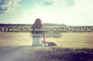 quotes about life lessons and mistakes