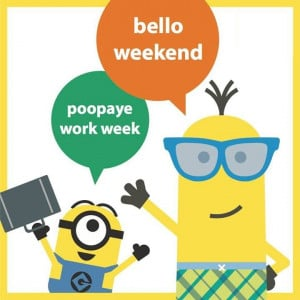 Hello #Weekend :) #minions #funny