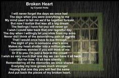 Heartbreak Poems | Poetry Greeting Cards - Sad Poem - Broken Heart ...