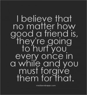 short quotes about friends that hurt you