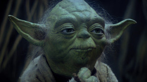 """That is why you fail."""" The Empire Strikes Back"""