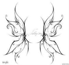 Fairy Wing Tattoos idea, angel wings, man with tattoos quotes, fairi ...