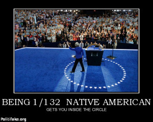 BEING 1/132 NATIVE AMERICAN - GETS YOU INSIDE THE CIRCLE