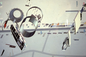 zaha hadid architectural drawings 1983 courtesy of the architecture ...
