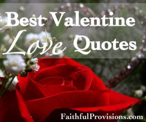 10 Best Valentine's Love Quotes