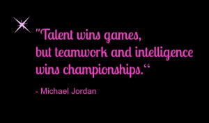 Teamwork quotes sayings winner michael jordan