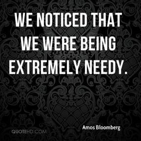 Needy Quotes