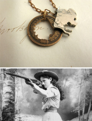 Annie Oakley Photo Courtesy...