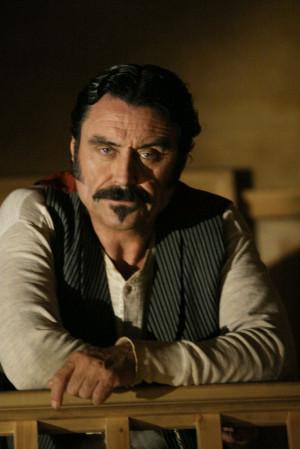 Ian McShane as Al Swearengen. Deadwood