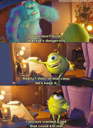 ... disney, dreams, happy, kitty, mike, moster inc, remember this, sully