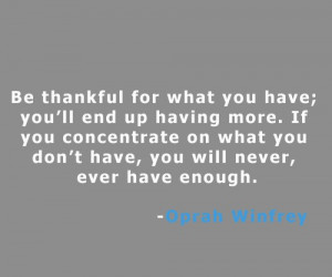 Famous, quotes, wise, sayings, thank, oprah winfrey