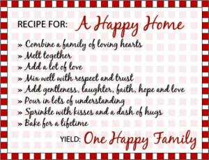 Happy Family Quote