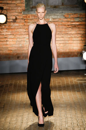 Yigal Azrouël Spring 2012 RTW Backless Dress Profile Photo