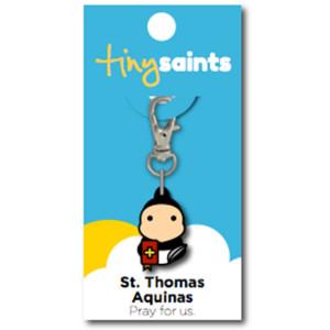 ST THOMAS AQUINAS TINY SAINT CHARM