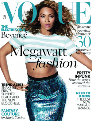 Beyoncé Talks Blue's Future and Being Mrs. Carter in British Vogue