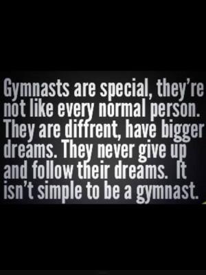 Gymnastics Sayings What is a gymnast?