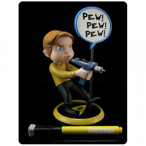 Star Trek Trekkies Captain James T. Kirk Q-Pop Vinyl Figure