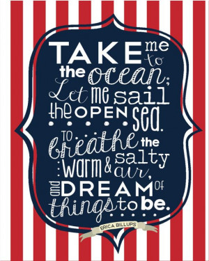 ... poem by Erica Billups} Ocean quotes, Sea quotes, Boats, sailing quotes
