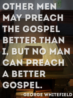 Stop comparing yourself to other preachers. We all have the greatest ...