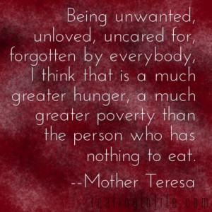 Good Words: A much greater poverty
