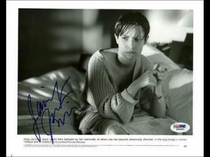 Jennifer Jason Leigh Single White Female Signed 8x10 Photo Psa #i84851