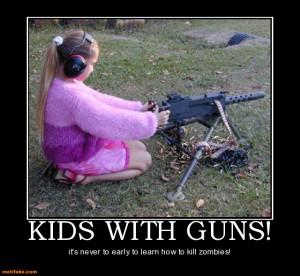 ... Play- Children play with machine guns in new Libya – Arab News