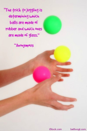 Juggling quote 2014