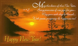 May The Dawn Of This New Year, Bring Promise Of New Joys For You ...