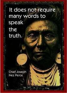 chief joseph quotes - Google Search