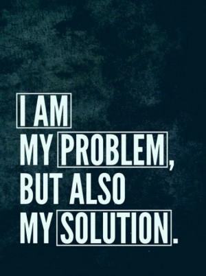 am my own worst enemy...