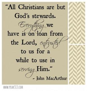 Looking at Healthy Stewardship Through a