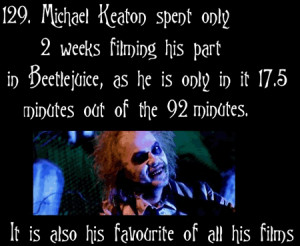 Michael Keaton (Batman, Mr. Mom, you name it...if it's got Michael ...
