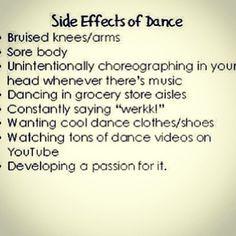 Dancer problems More