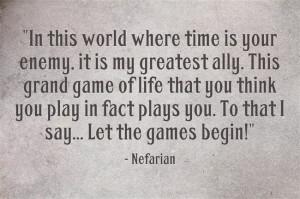 Abandonment. Legacy. Destiny. Nefarian.