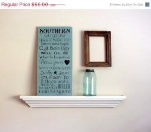 MOTHERS DAY SALE Southern Sweet & Sassy Sayings Hand-Painted Wood Sign ...