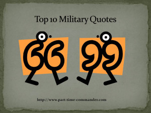 Top 10 Famous Military Quotes of All Time | Citizen Soldier ...